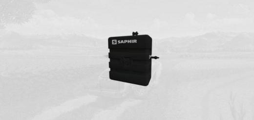 Photo of FS19 – Saphir 800 Kg Weight V1
