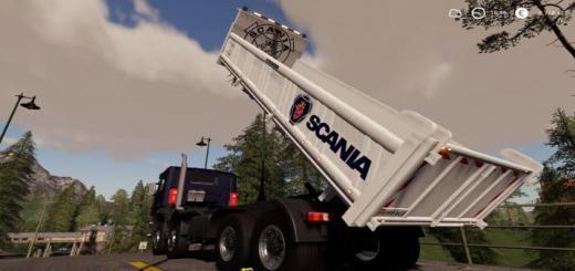 Photo of FS19 – Scania 8X4 Tipper V2.0.2.0