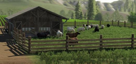Photo of FS19 – Sheep Pasture V1