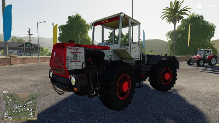 FS19 - St 180 Tractor V1