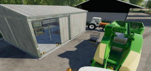 Photo of FS19 – Straw Harvest Pallet Storage V1
