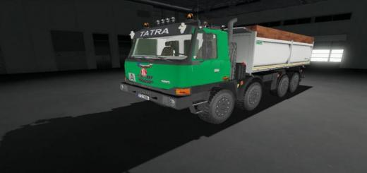 Photo of FS19 – Tatra Terrno 8X8 V1