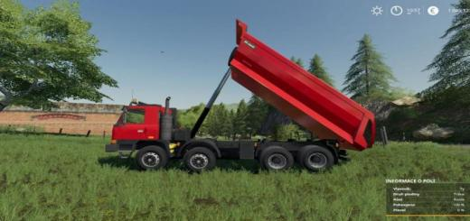 Photo of FS19 – Tatra Terrno1 8X8 + Korba S1 V1