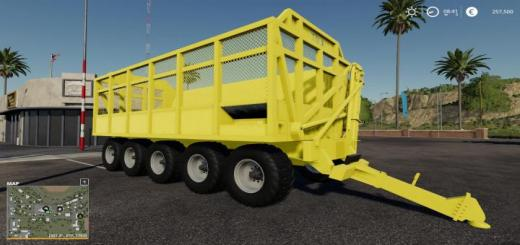 Photo of FS19 – Tma Vtx 6030 Trailer V1.1