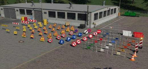 Photo of FS19 – Traffic Signs V1