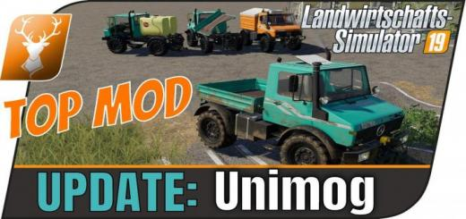 Photo of FS19 – Unimog U1200, U1400, U1600 V1.1