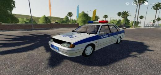 Photo of FS19 – Vaz 2115 Police V1