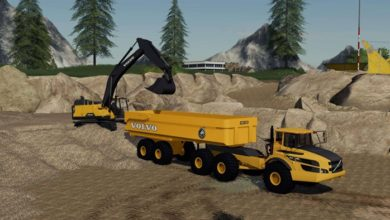 Photo of FS19 – Volvo Mining Pack V1