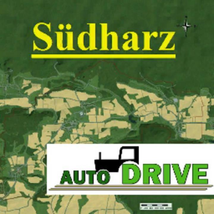 FS19 - Autodrive Courses South Harz Map V1