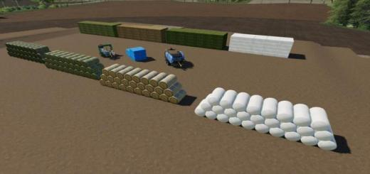 Photo of FS19 – Bdm Bale Storage V1