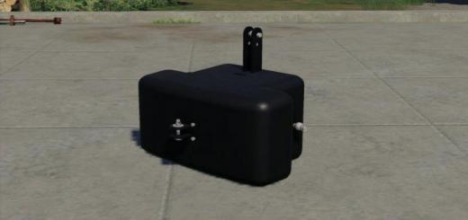 Photo of FS19 – Bemu 1050Kg Gewicht Converted V1