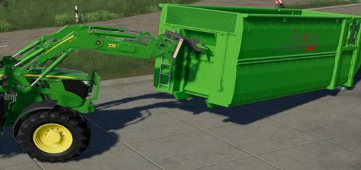 Photo of FS19 – Bressel And Lade H55 Containerhook V1
