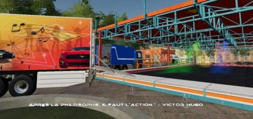 Photo of FS19 – Cargo Bull Cars Bumper V1