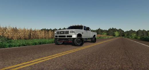 Photo of FS19 – Chuckles 1993 Ford F350 V1.1