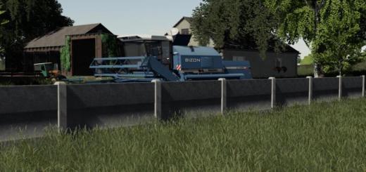 Photo of FS19 – Concrete Fences V1