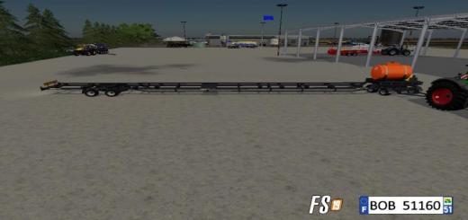Photo of FS19 – Cutter Bar Trailer V1.5
