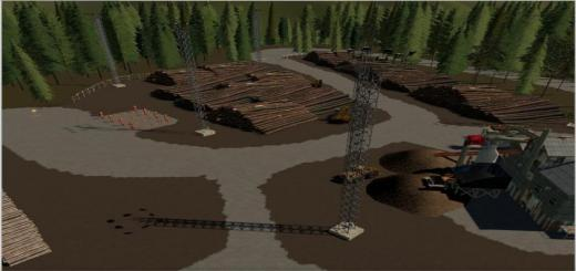 Photo of FS19 – Dark Canyon Map V1