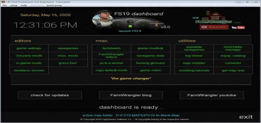 Photo of FS19 – Dashboard V3.3