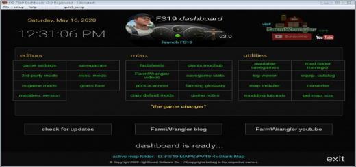 Photo of FS19 – Dashboard V3.31