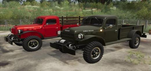 Photo of FS19 – Dodge Power Wagon 1946 V1