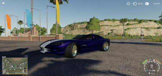 Photo of FS19 – Dodge Viper Gts V1.0.1.0