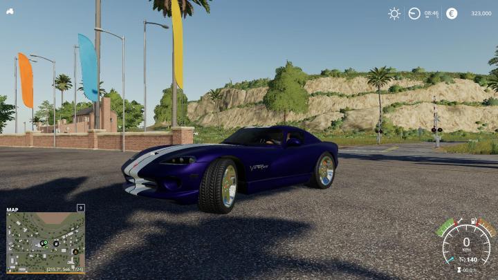 FS19 - Dodge Viper Gts V1.0.1.0