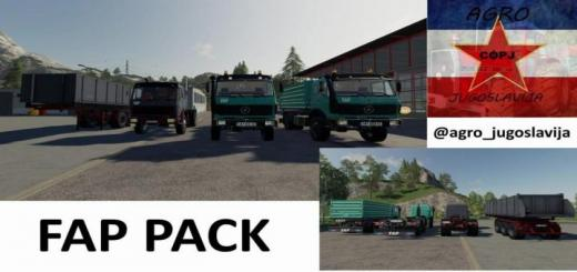 Photo of FS19 – Fap Pack V1