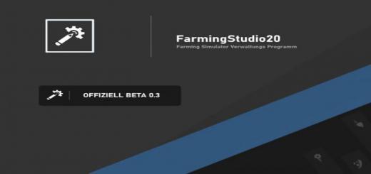 Photo of FS19 – Farming Studio 20 V0.3 Beta