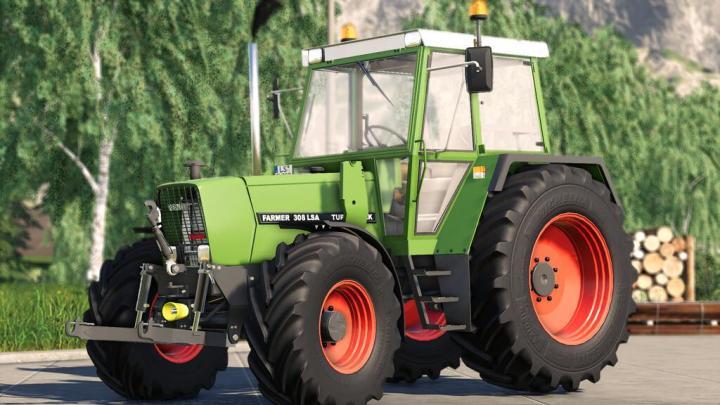 FS19 - Fendt Farmer 30X V1