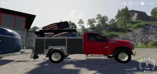 Photo of FS19 – Ford F350 Servicetruck V1.1