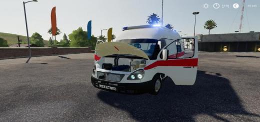 Photo of FS19 – Gazelle Ambulance V1