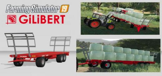 Photo of FS19 – Gilibert Tr 3130 Trailer V1