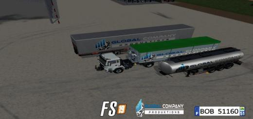 Photo of FS19 – Global Company Productions Trailers Pack V2