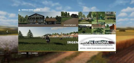 Photo of FS19 – Irgendwo In Europa 4Fach Map V1.3.5 Final