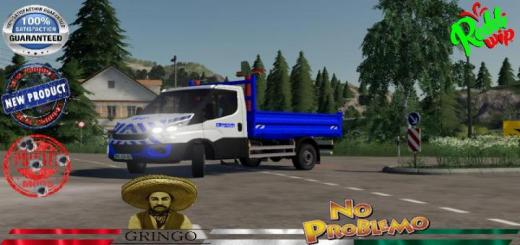 Photo of FS19 – Iveco Benne A Van. Velsen V1.5