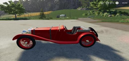 Photo of FS19 – Jaguar Ss100 V1
