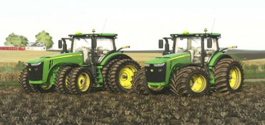 Photo of FS19 – John Deere 8R Us Series V2.0.0.1