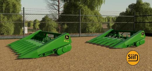 Photo of FS19 – John Deere Corn Headers V1