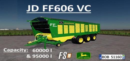 Photo of FS19 – John Deere Ff606Vc Trailer V2.0.0.1