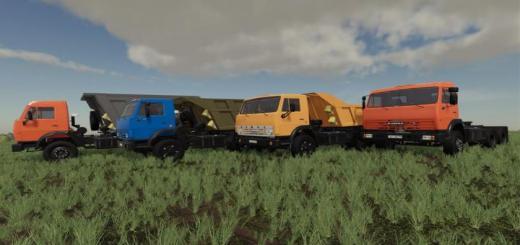 Photo of FS19 – Kamaz 55111 Truck V1