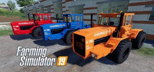 Photo of FS19 – Kirovets K-710 Tractor V2