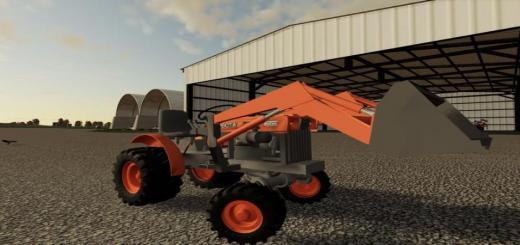 Photo of FS19 – Kubota Mini Tractor V1.1