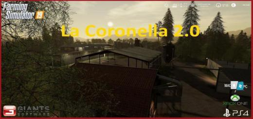 Photo of FS19 – La Coronella 2.0 Map V1.0.2.0