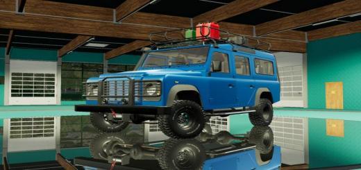 Photo of FS19 – Land Rover Defender Wagon 110 V2