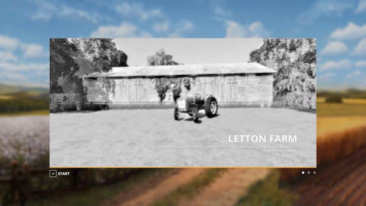 FS19 - Letton Farm Map V1