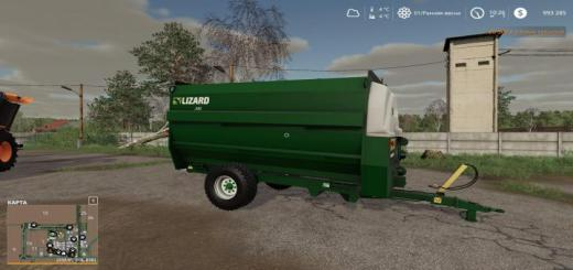 Photo of FS19 – Lizard 340 Feeder Wagon V1.0.0.1
