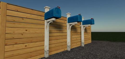 Photo of FS19 – Mailbox Prefab V1