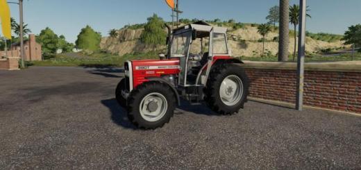 Photo of FS19 – Massey Ferguson 390T Tractor V1.0.1.0