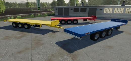 Photo of FS19 – Maupu Srap 32T Trailer V1