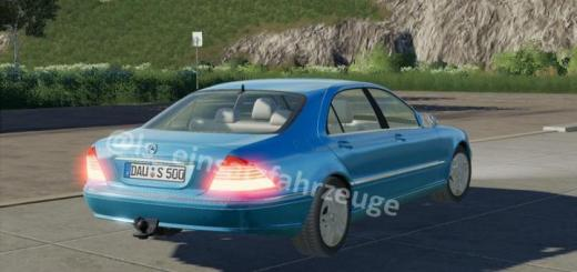 Photo of FS19 – Mercedes S500 Civil And German Police V1